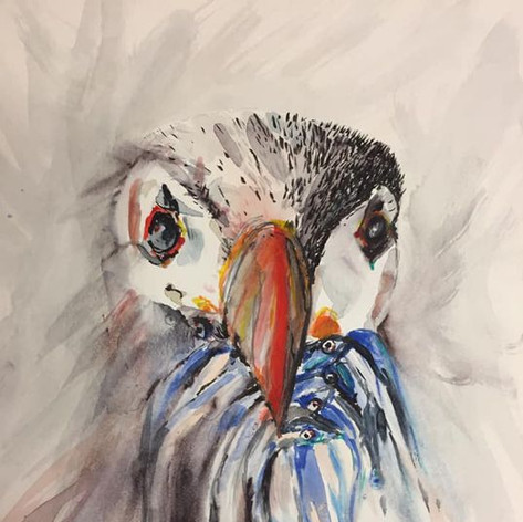 Stuffin Puffin - SOLD