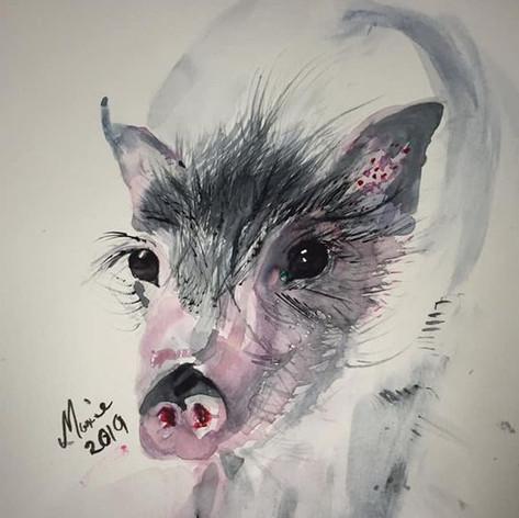 Piggie Wiggy - SOLD