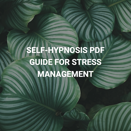 Self-Hypnosis PDF Guide for Stress Management - Free