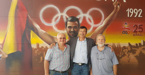 Homenaje Antonio Peñalver 25º aniversario de la medalla de plata