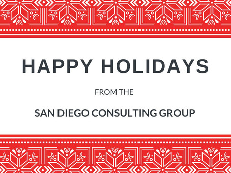 Happy Holidays From SDCG