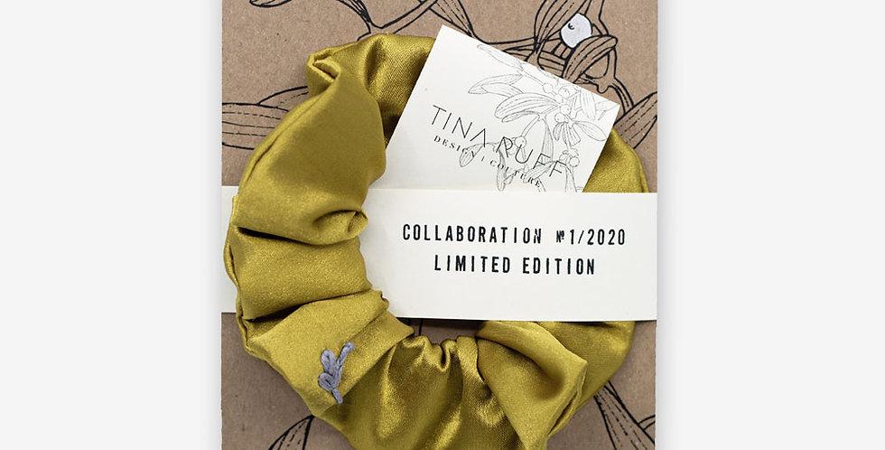 Karte & Scrunchie gold