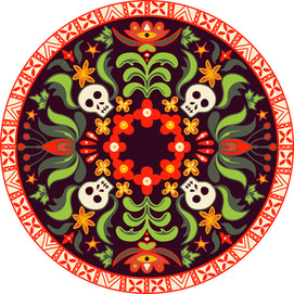 Baba Yaga Fabric Rendering
