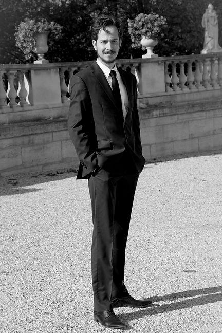 Olivier Déjean au jardin du Luxembourg 1