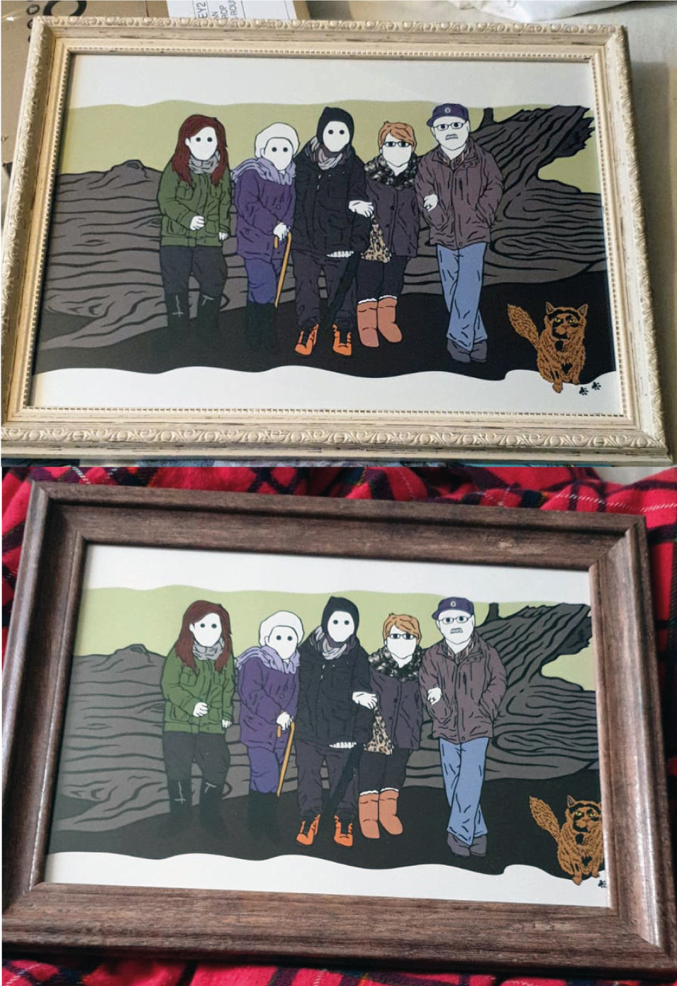 Rickman Family Finals In Their Frames