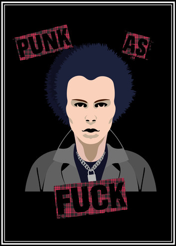 Punk As Fuck Poster 1