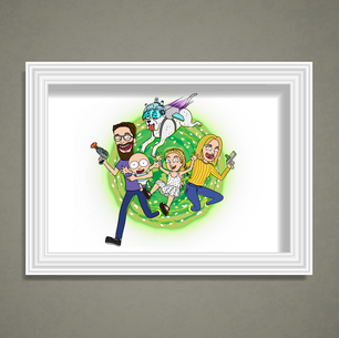 Laura (Rick & Morty Family Portrait)