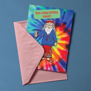 LeavingCard.com - Hippie Card Design