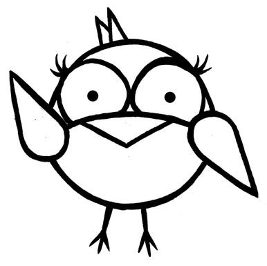 Original Bird Sketch