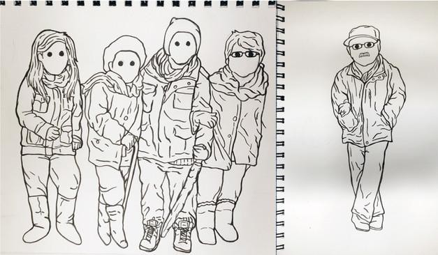 Rickman Family Sketches