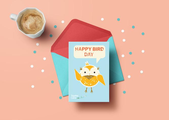 Bird Card Mockup