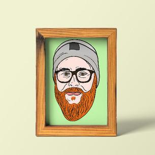 Self Portrait Digital Painting