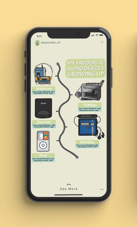 Infographic Instagram Stories Example