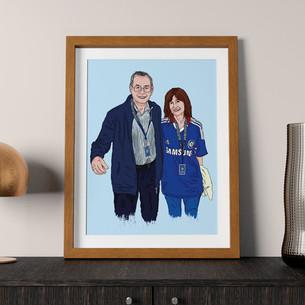 Cindy and Grandpa Coyne
