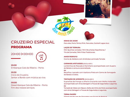 🛳 CRUZEIRO Especial de S. Valentim 💘
