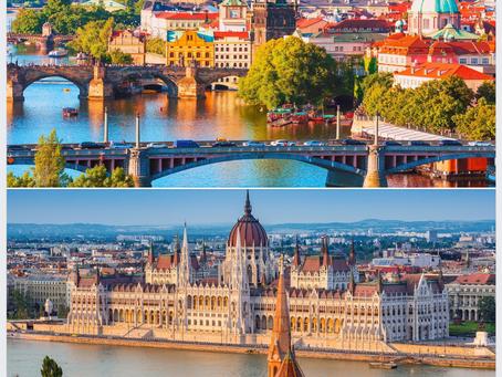 Combinado Praga e Budapeste