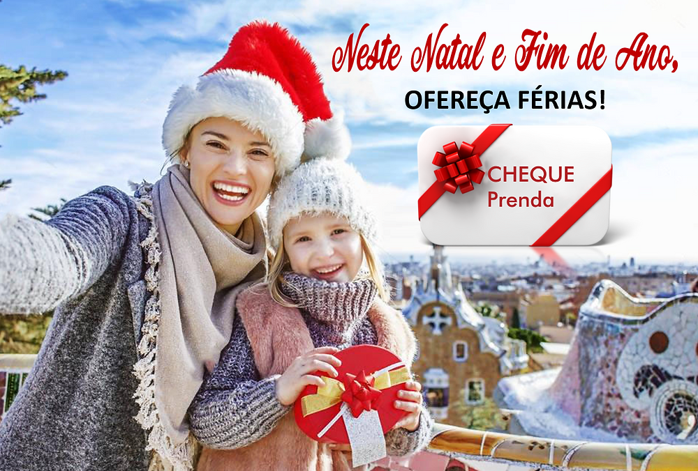 Cheque Prenda, voucher, gift card, christmas gift card, cartão presente Natal, cartão prenda Natal