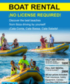 Boat Rental No License Required