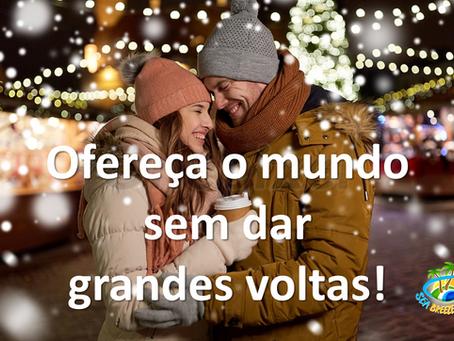 Neste Natal, ofereça o mundo!