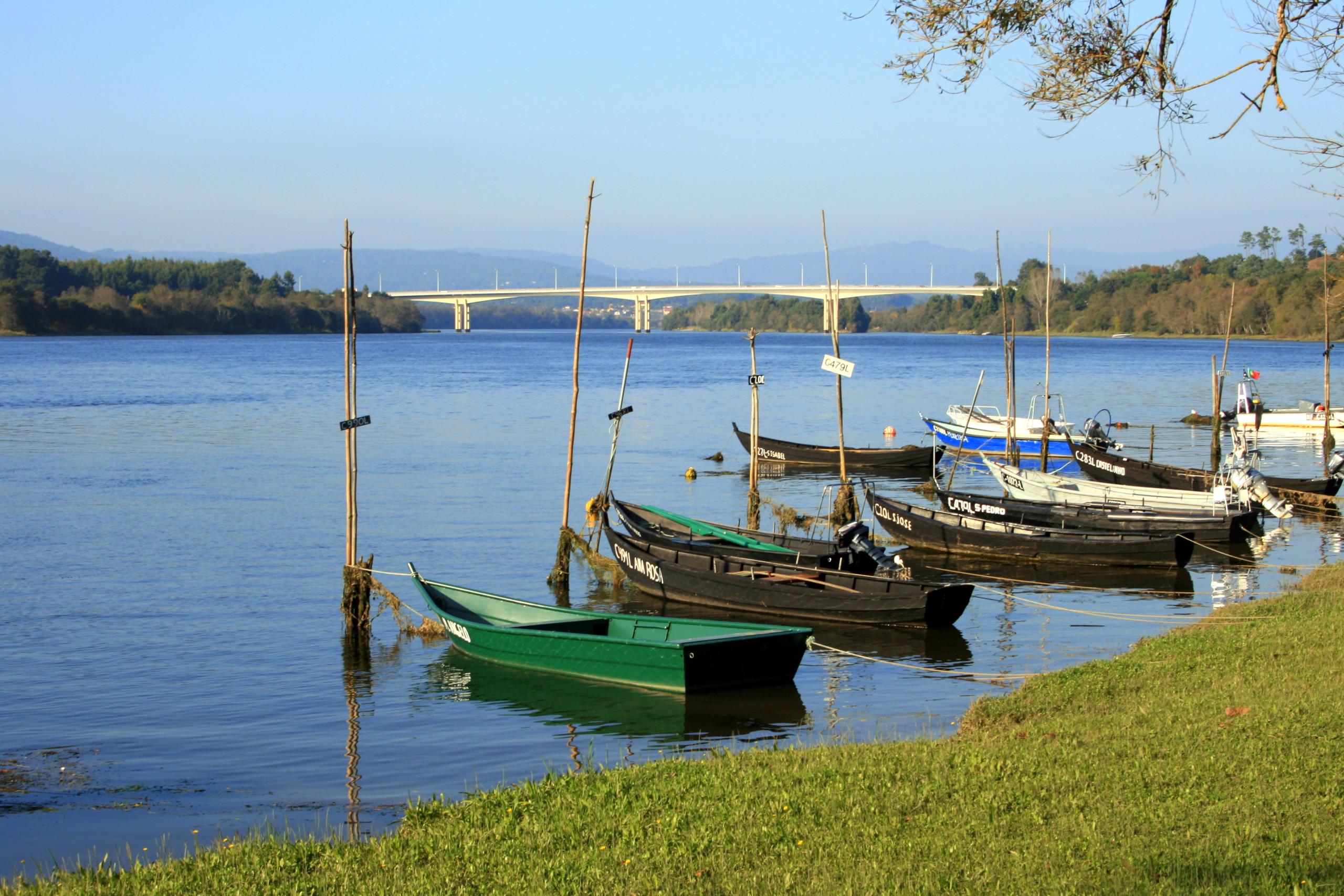 Cerveira, Vila Nova de Cerveira, Rio de Cerveira, Rio de Vila Nova de Cerveira, barcos em cerveira, barcos no rio, inatel cerveira
