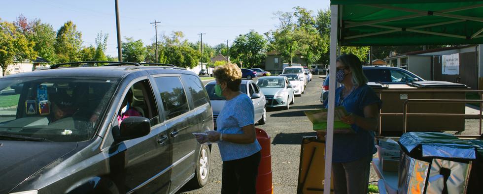 Drive-thru pick-up service