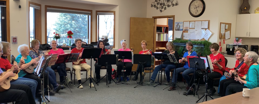 Music day at the Adult Day Center