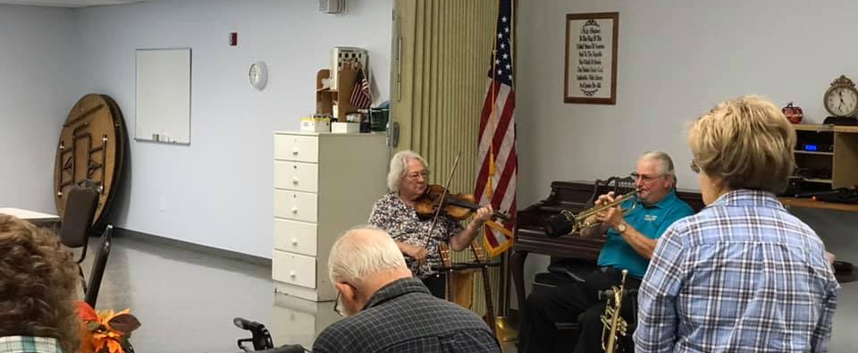 Musical performance at the Center