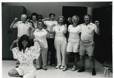 The First Aerobics Class