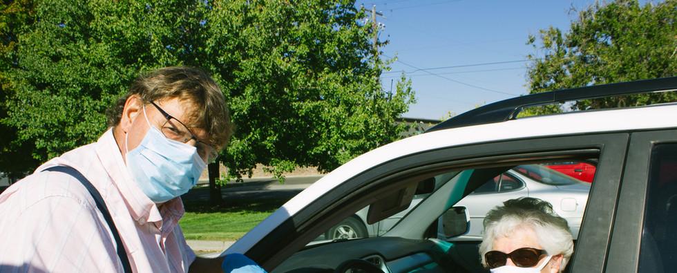 Drive-thru pick-up