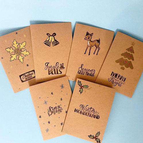 Printed Christmas cards