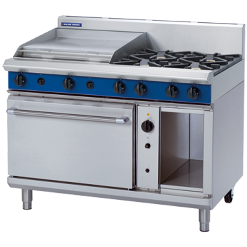 G58B 1200mm Gas Range Convection Oven