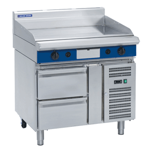 Blue Seal GP516-RB Gas Griddle Refrigerated Base