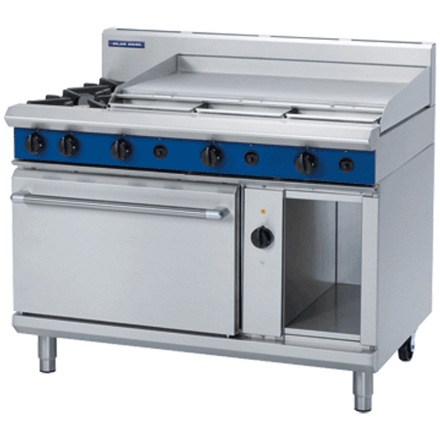 GE58A 1200mm Gas Range Electric Convection Oven