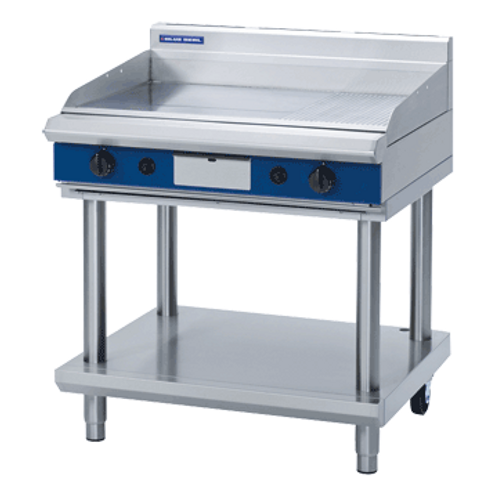 Blue Seal GP516-LS 900mm Gas Griddle Leg Stand