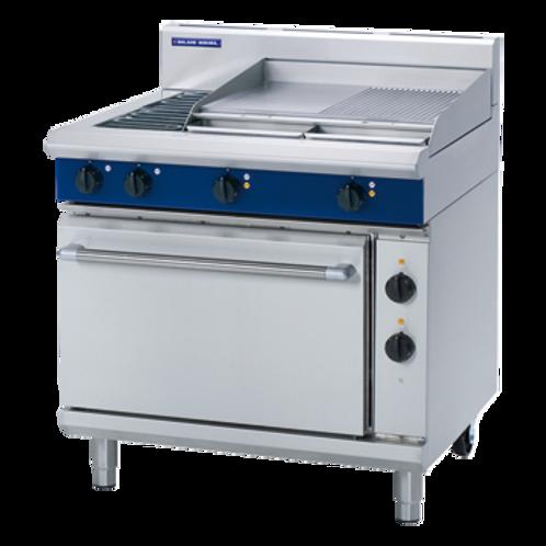 E506B 900mm Electric Range Static Oven