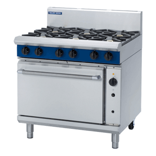 Blue Seal G56D 900mm Gas Range Convection Oven