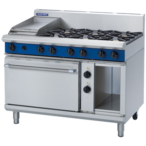 GE508C 6Burner Cooktop Range Oven & 300mm Griddle