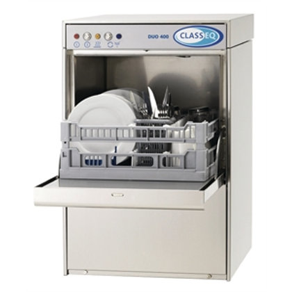 DUO 400 Front Loading Commercial Dishwasher