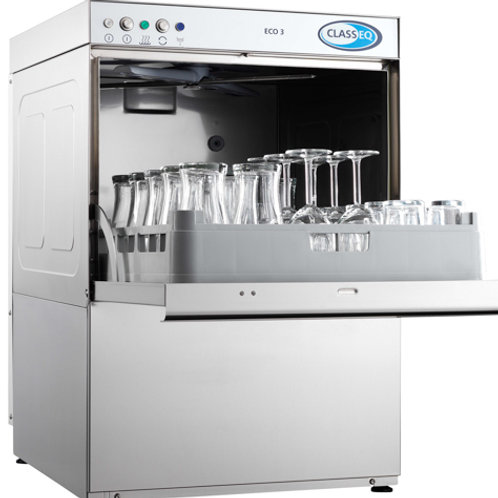 Classeq Eco 3 Glasswasher - 500mm Rack Size