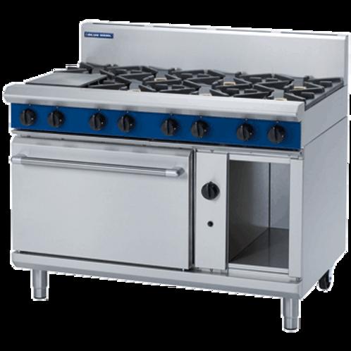 G508D - 1200mm 8 Burner Gas Cooktp Range Oven
