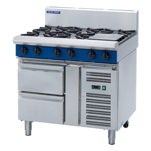 Blue Seal G516D-RB Gas Cooktop Refrigerated Base