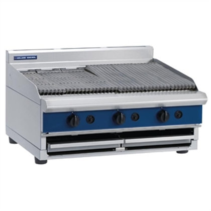 G596-B - 900mm Gas Chargrill Bench Model