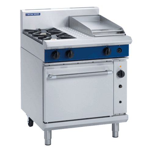 Blue Seal G54C 750mm Gas Range Convection Oven