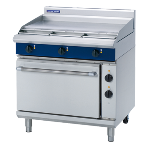 E506A 900mm Electric Range Static Oven