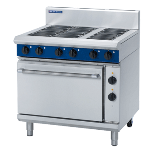 E506D 900mm Electric Range Static Oven