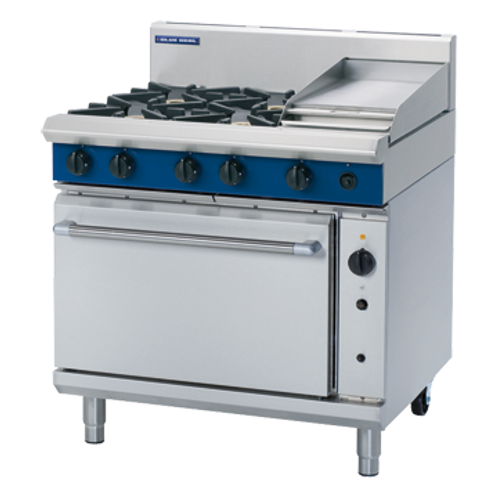 Blue Seal G56C 900mm Gas Range Convection Oven