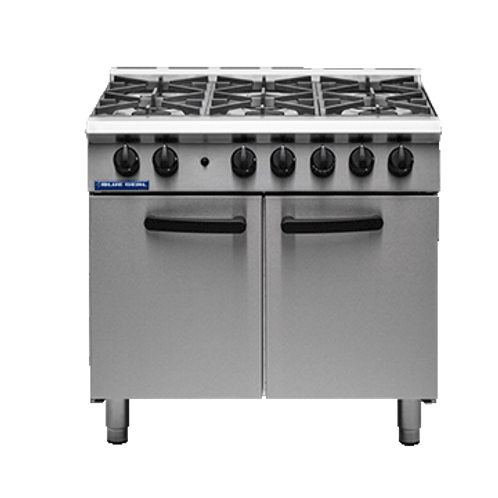 Blue Seal G750-6 - 6 Burner Range Static Oven