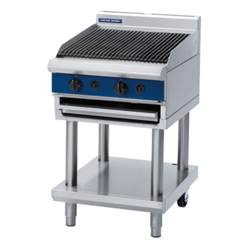 Blue Seal G593-LS 450mm Gas Chargrill - Leg Stand