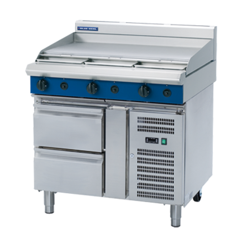 Blue Seal G516A-RB Gas Cooktop Refrigerated Base