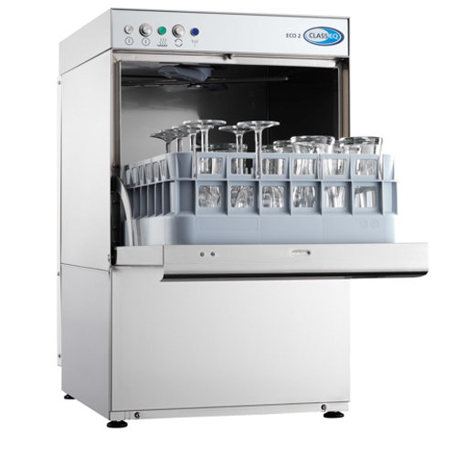 Classeq Eco 2 Glasswasher - 400mm Rack Size